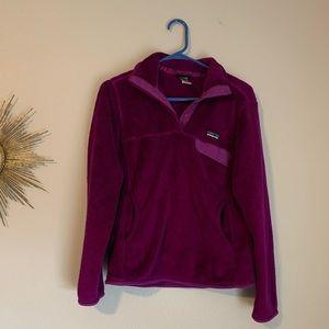 Patagonia Retool Pullover Purple Small